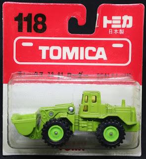 Tomica - 118 日本製, 吸塑包裝