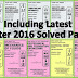 AMIE Previous Exams Solved Question Papers for Section A Diploma/ Non Diploma & Section B all Engineering Branches