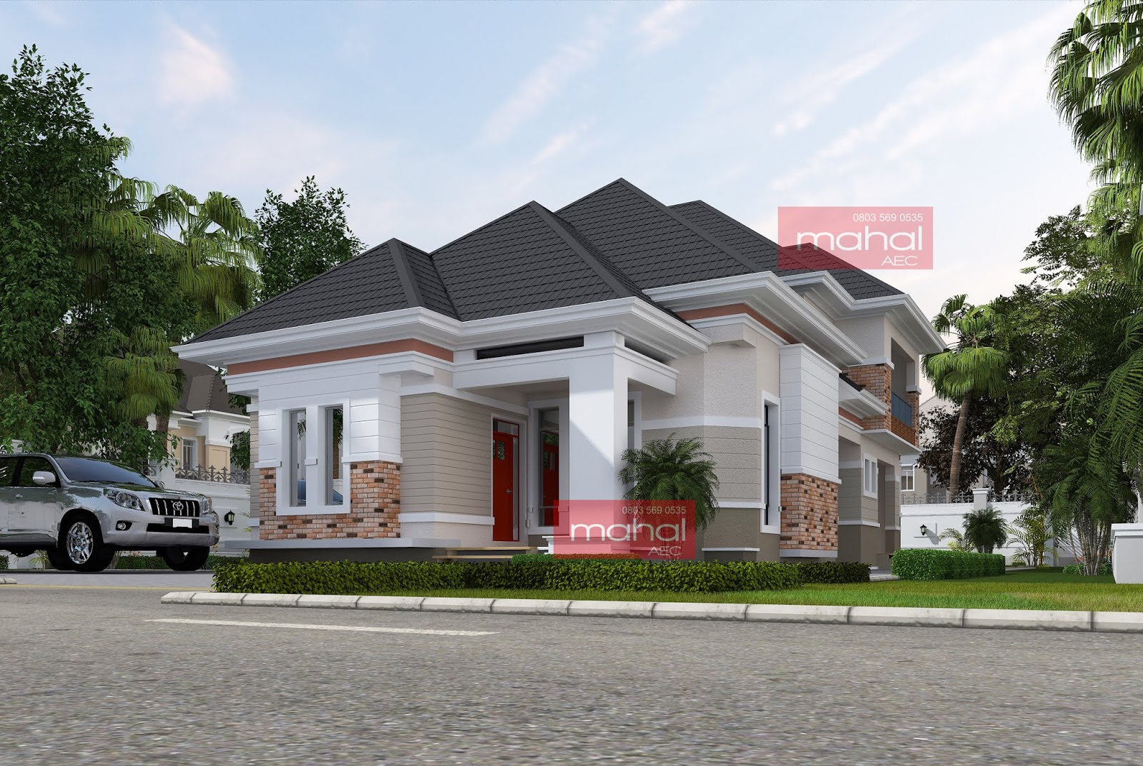 Bungalow With Penthouse Floor Nairaland Modern House