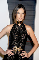 alessandra ambrosio sexy black velvet dress 2016 vanity fair oscar party best red carpet dresses