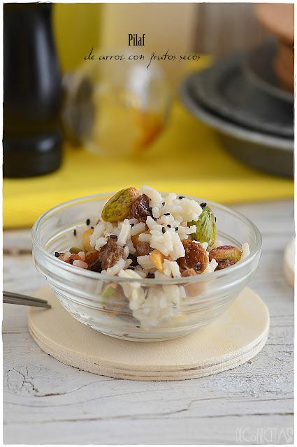 Pilaf de arroz con frutos secos