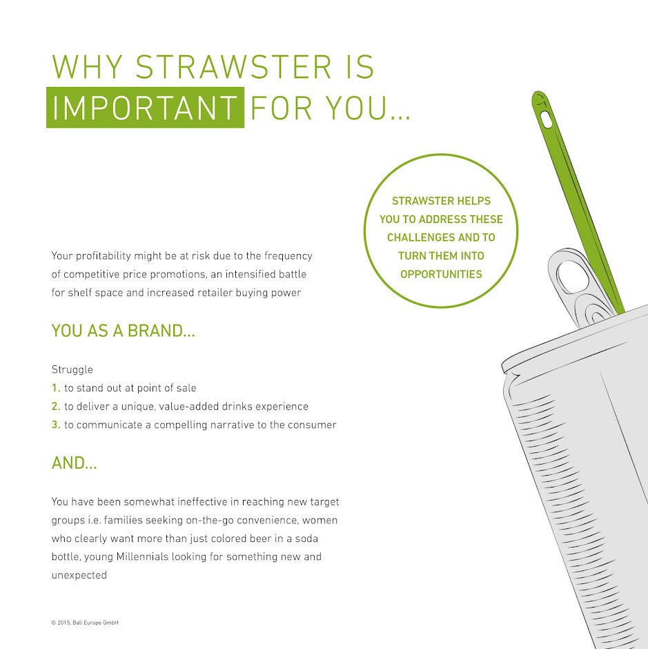 Strawster packaging