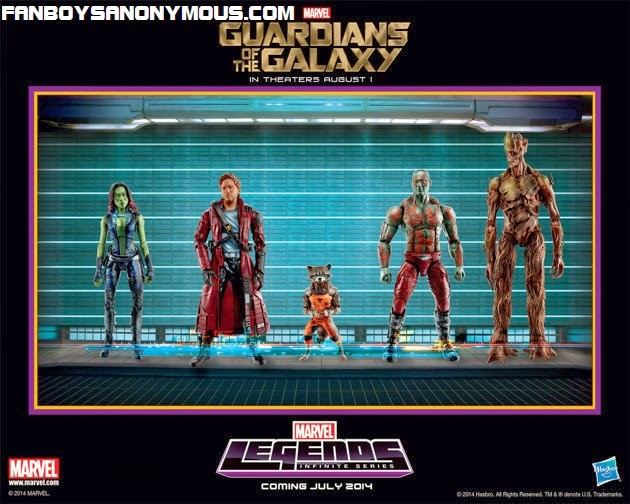GI Joe toy and comics company Hasbro to release Guardians of the Galaxy action figure set for movie's release