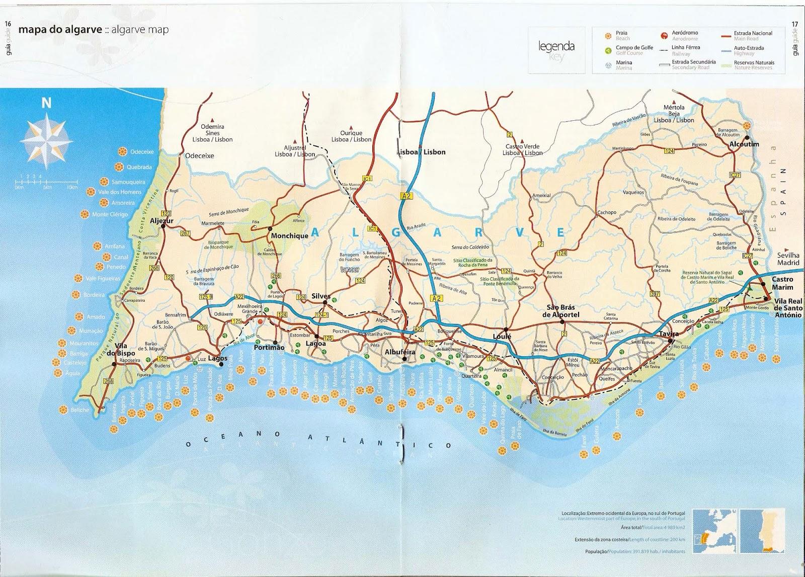 mapa da cidade de portimao Mapas de Portimão   Portugal | MapasBlog mapa da cidade de portimao