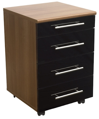 4-drawer mobile pedestal