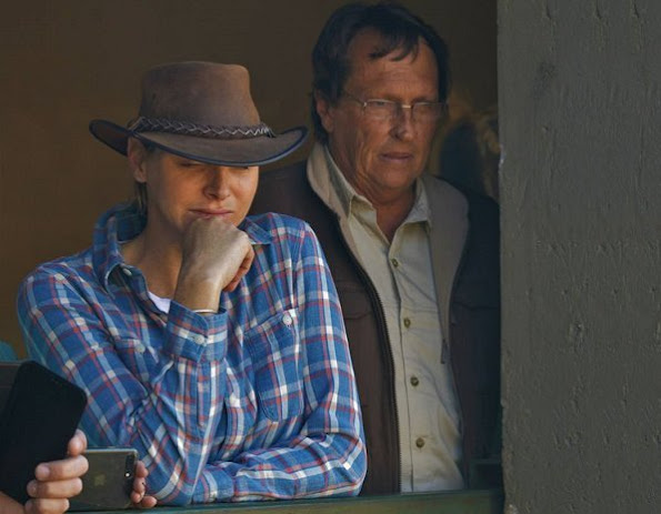 Princess Charlene of Monaco visited The Rhino Orphanage in the Limpopo. The orphanage is the first specialist non-commercial centre
