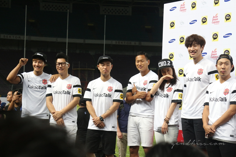 Kim JongKook, Jee Sukjin, Kang Gary, Song JiHyo, Lee KwangSoo, HaHa