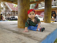 Menjaga Anak yang hiperaktif bermain lebih baik, ketimbang Anak sering digendong