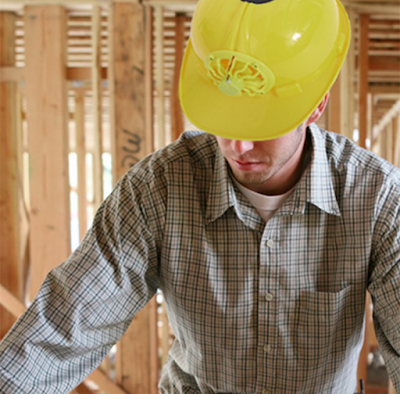 Construction Hard Hat With Integrated Cooling Fan