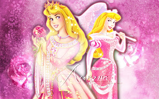 Sleeping Beauty Free Printable Invitations, Frames or Cards.