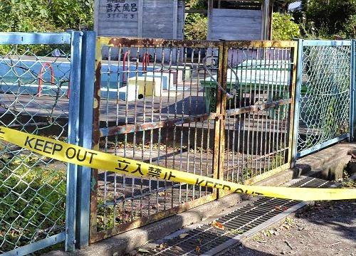 プール施錠不十分 保育園児重体事故