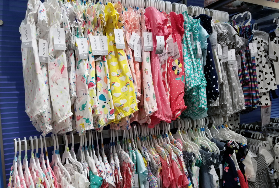 6a2067e9d0aa Head over to Macy s where you will see Carter s baby rompers are on  clearance for as low as  3.96. This is a perfect time to grab a few for  next year or ...