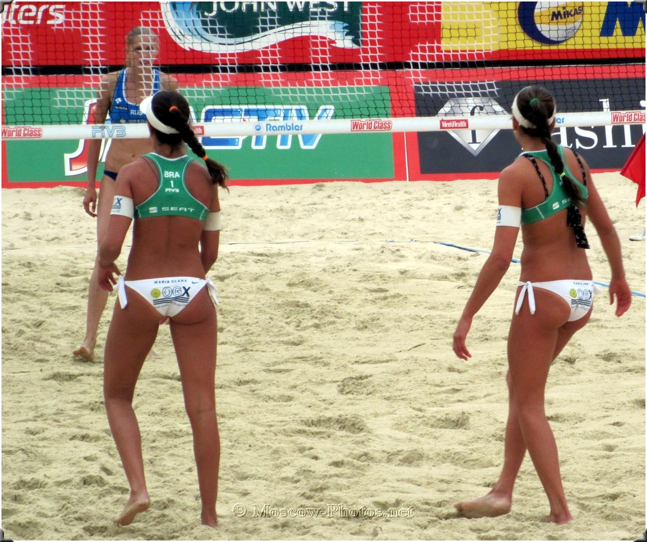 Girls From Brazil Beach Volleybal Team