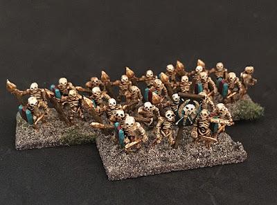 2nd place: Undead skeletons, by Ironduke