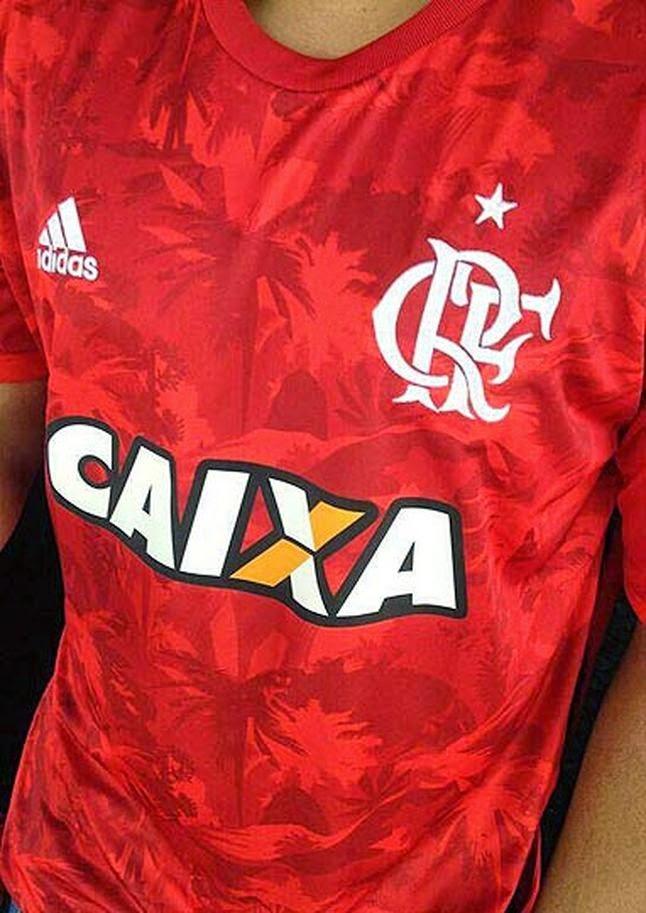 0a5f1f1644 Vazou na internet na manhã deste domingo o suposto uniforme três do Flamengo