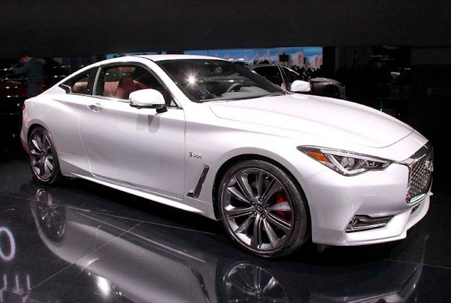 2017 latest Infiniti Q60 Red Sport 400 first drive: a case for the car
