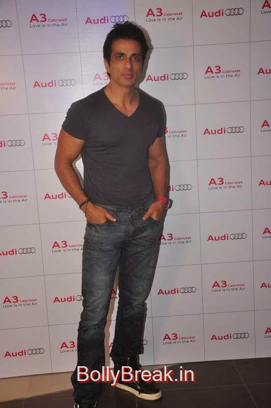 Sonu Sood at the launch of Audi A3, Sunny Leone, Neha Dhupia, Sonakshi Sinha Snapped At DIfferent Events