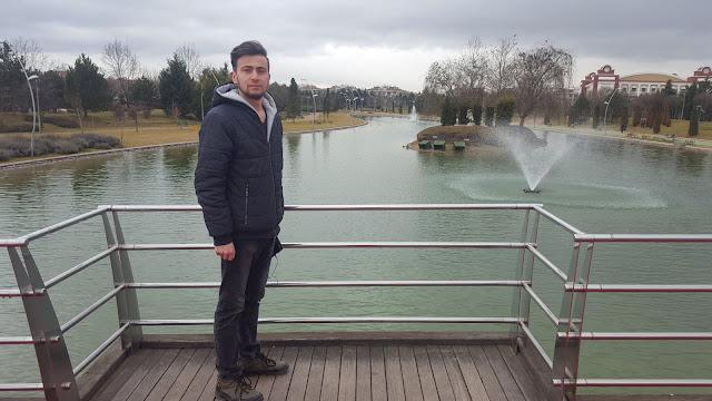 Harun İstenci Eskişehir Kent Park'ta. Tepebaşı,Eskişehir - Ocak 2019
