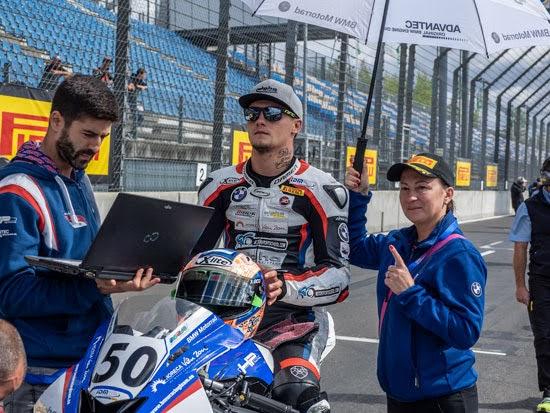 IDM Superbike Lausitzring - Ilya Mikhalchik weiter auf Titelkurs