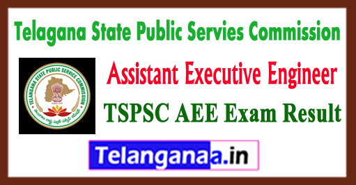 TSPSC AEE Assistant Executive Engineer Exam Result 2018 Answer Key