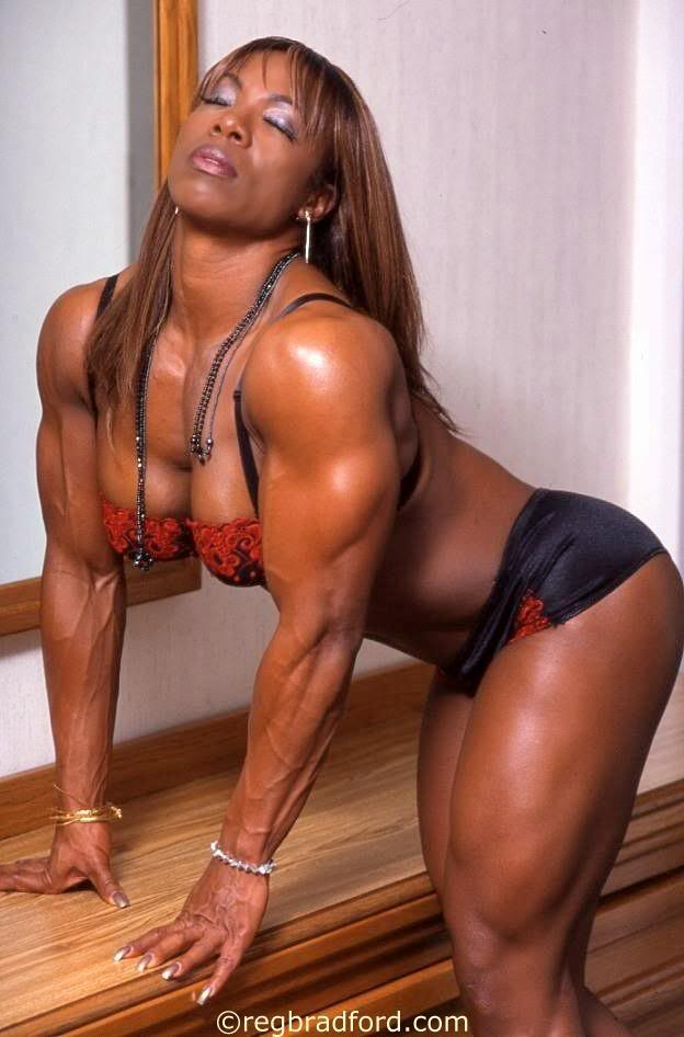 Nude Black Women Bodybuilders