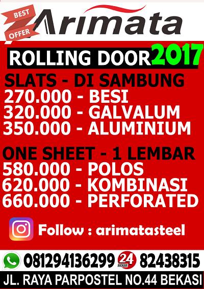 gambar harga pintu folding gate