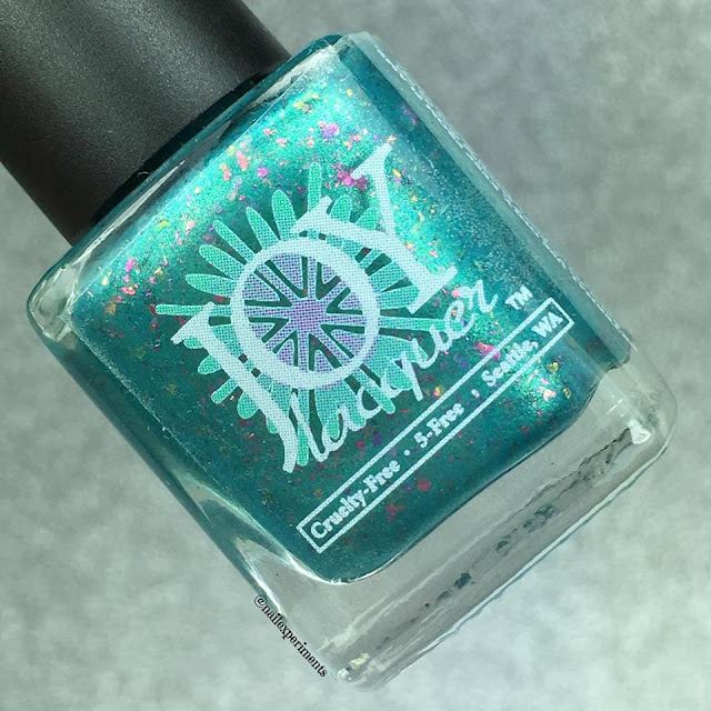 JOY LACQUER AVANT GARDE A CLUE CHROME FLAKIE NAIL POLISH