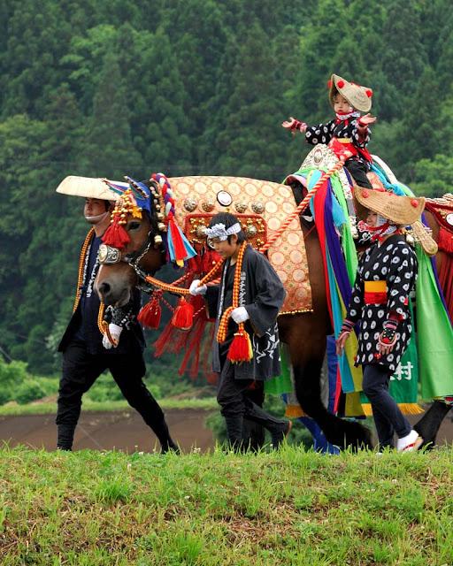 Chagu Chagu Umako (Horse Festival), Morioka City, Iwate Pref.
