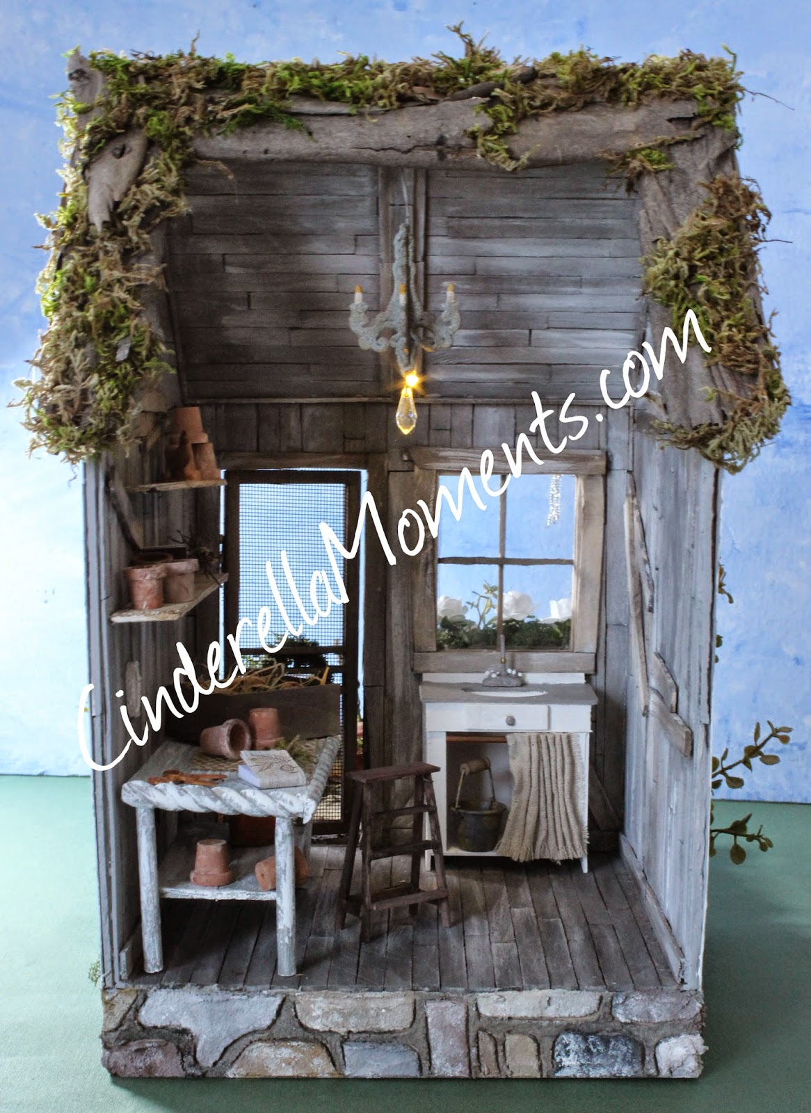 Cinderella Moments The Potting Shed Dollhouse
