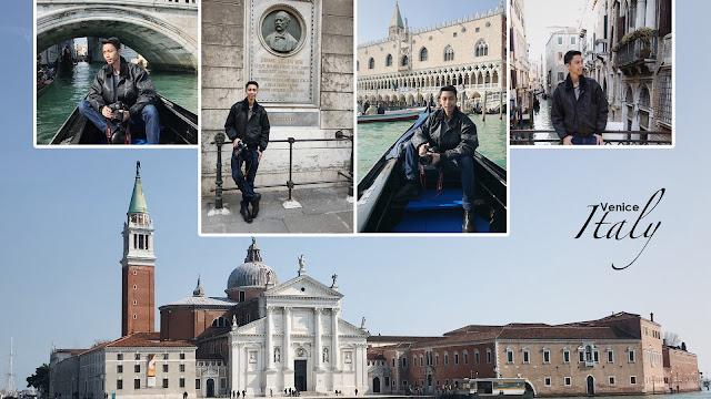 Darwin Mahesa shooting di Italia