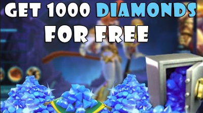 GRATIS 1000 DIAMONDS MOBILE LEGENDS