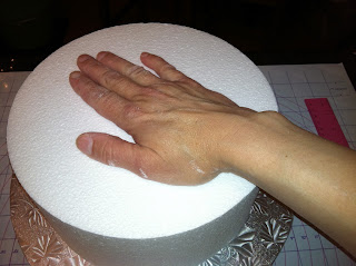 The Iced Queen Making A Styrofoam Quot Dummy Quot Cake