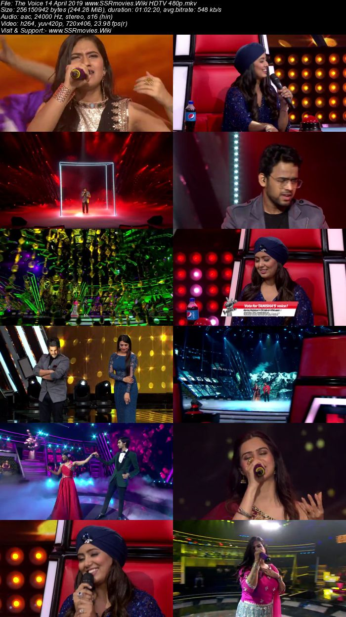 The Voice 14 April 2019 HDTV 480p Full Show Download