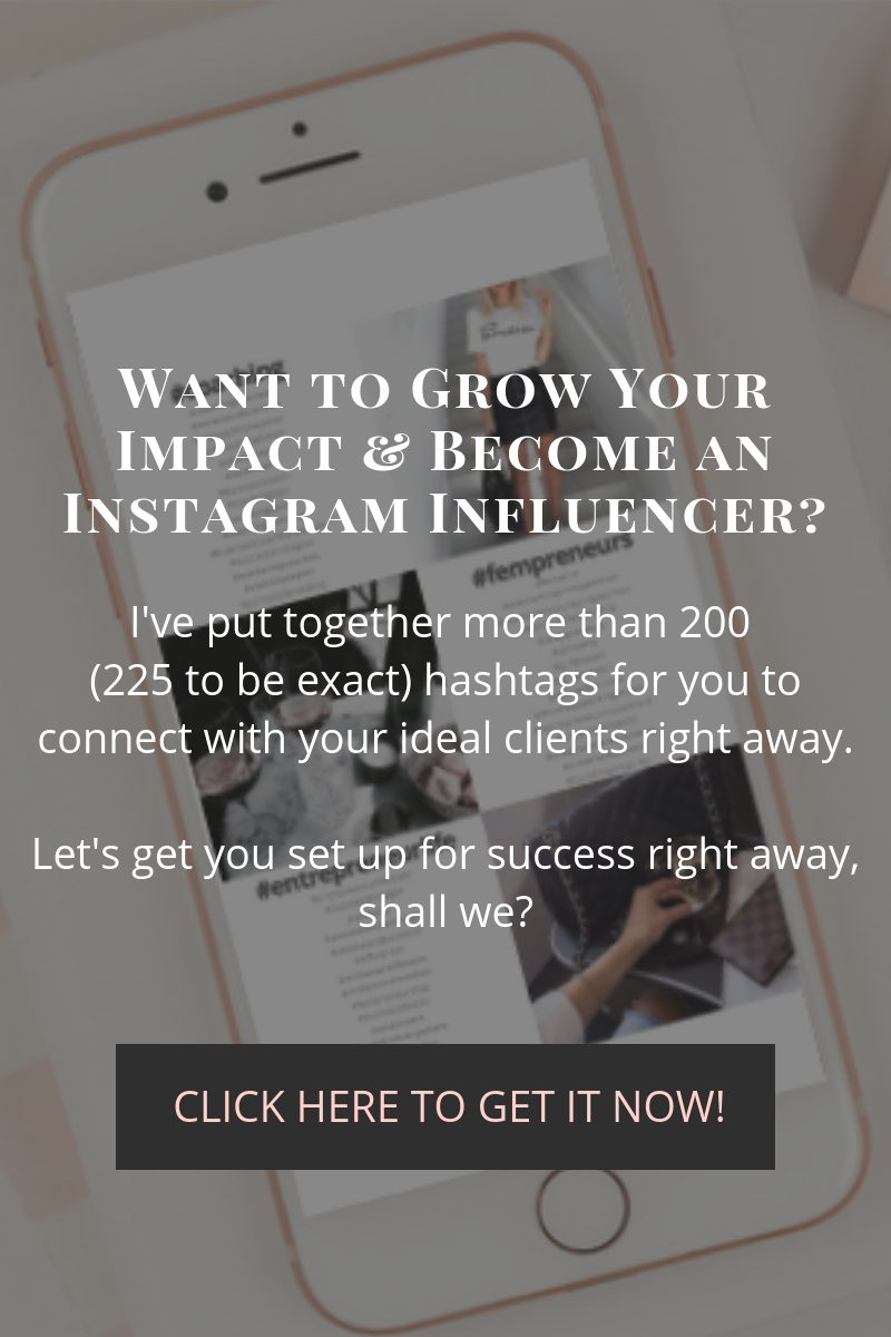 Want to be an Instagram Influencer?