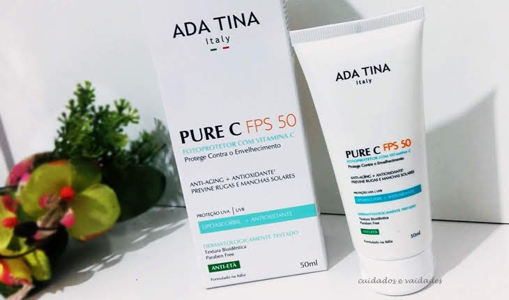 Protetor Ada Tina Pure C FPS 50