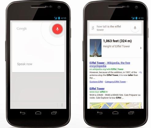 Aplikasi Penelusuran Suara Google