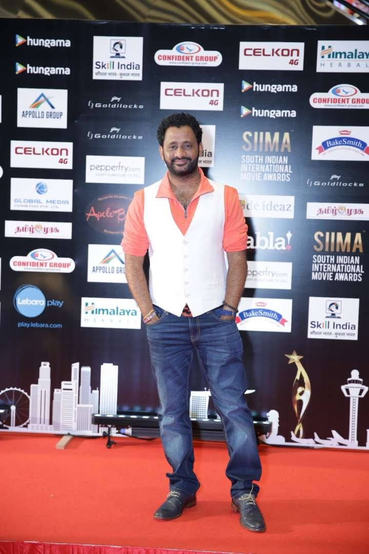 Oscarwinning sound artist Resul Pookutty attended SIIMA