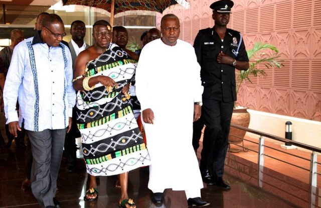 Mahama regrets ignoring my counsel – Otumfuo