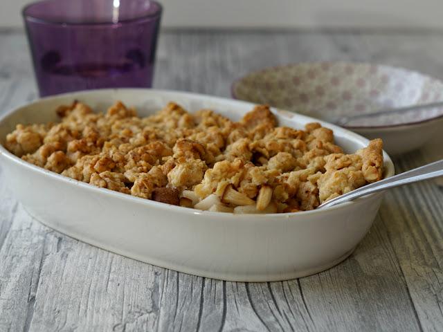 Apfel-Birnen Streusel, Crumble