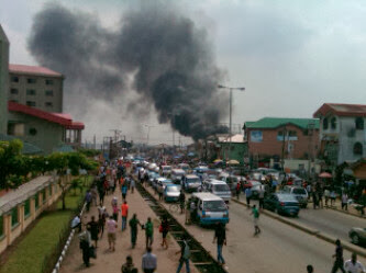 bomb explosion rivers state governor