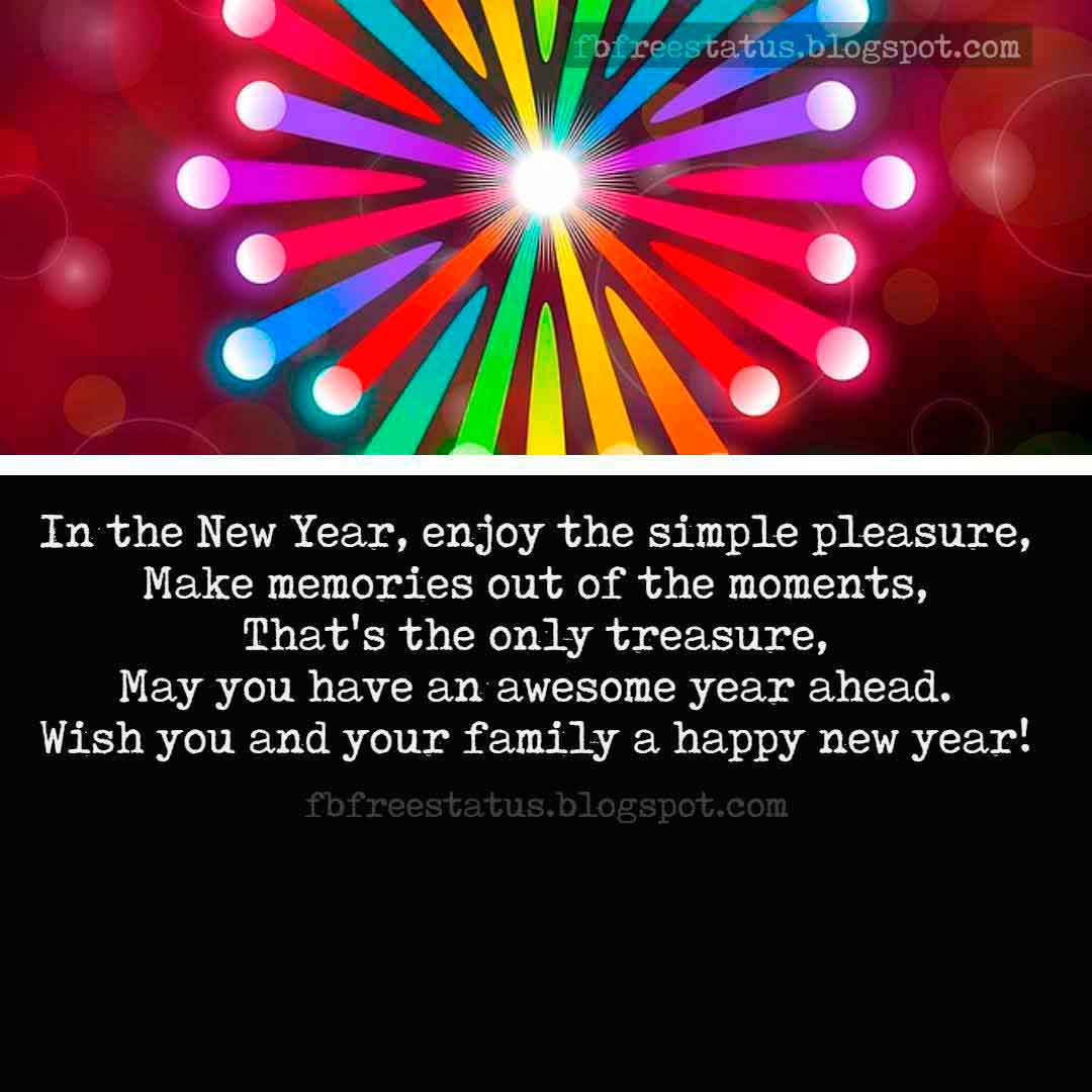 Inspirational new year messages for friends