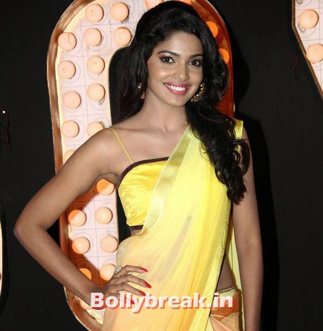 Pooja Sawant, Pooja Sawant at Poshter Boyz Song Shoot