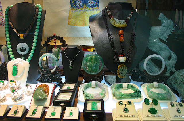 Jade Shop in Singapore at Lavalier at high end quality one