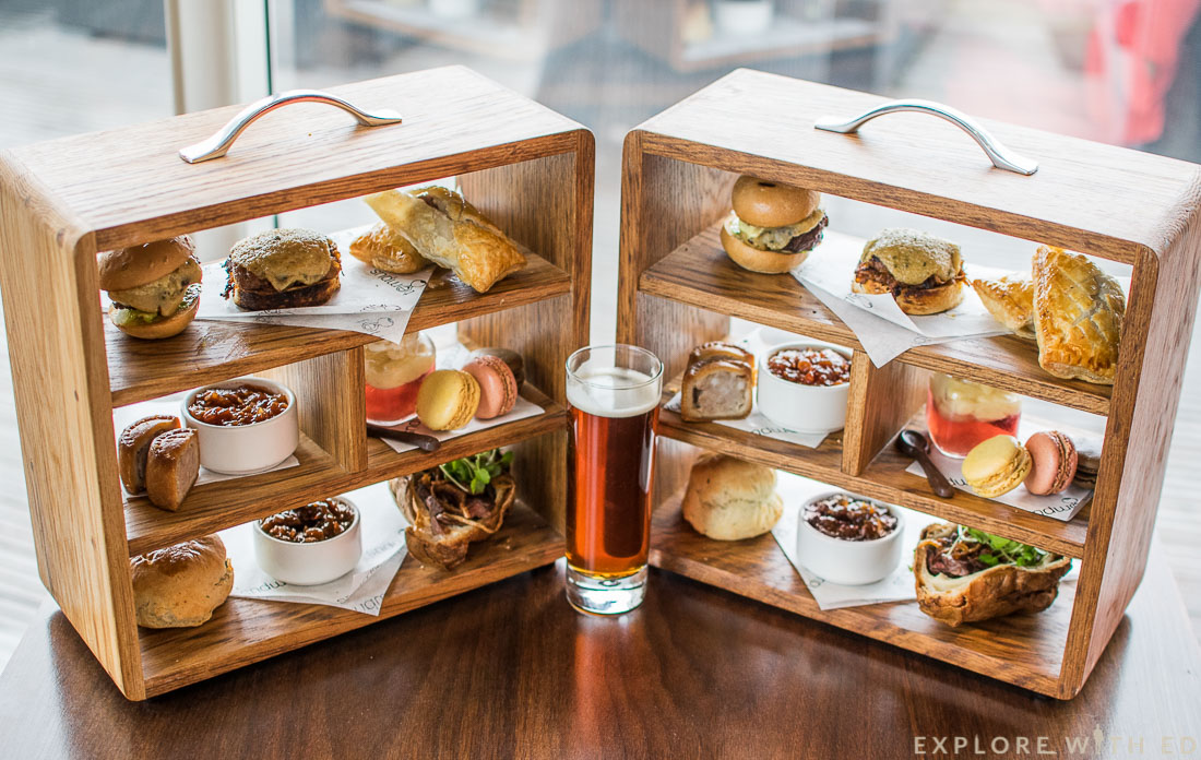 St Davids Hotel Gentlemen's Afternoon Tea at Tempus at Tides Bar and Restaurant