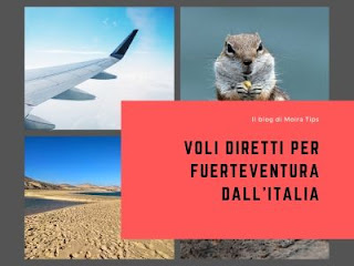 VOLI DIRETTI per Fuerteventura dall'Italia 2020
