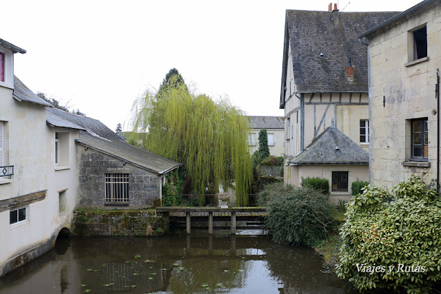 Canal de Langeais, Valle del Loira, Francia