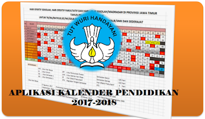 Download Kalender pendidikan excel 2017/2018