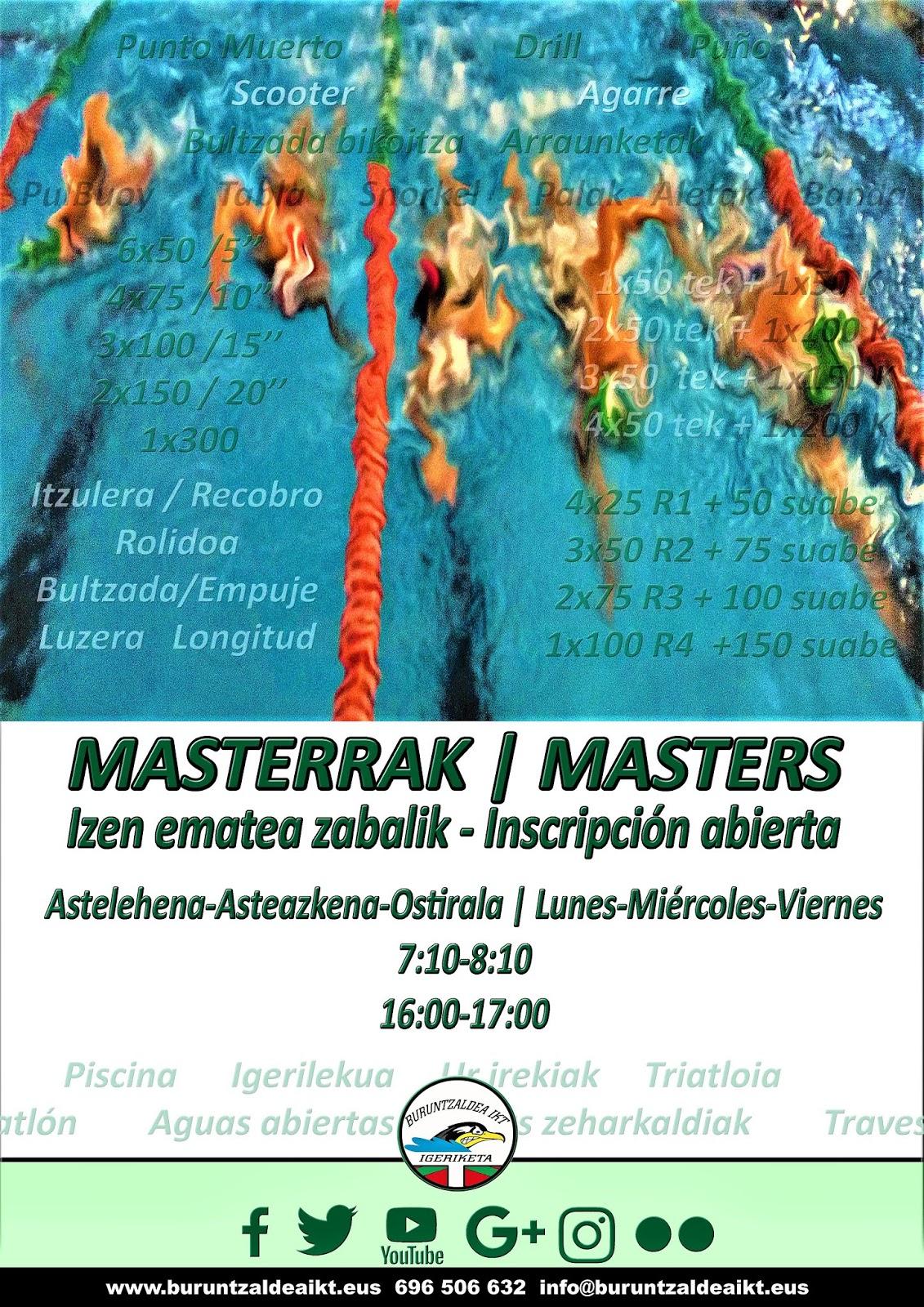 MASTERRAK | MASTERS