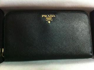 1d5f974e49809c -SOLD- Authentic Prada wallet Saffiano Metal 1M0506 long zip around wallet  Sale