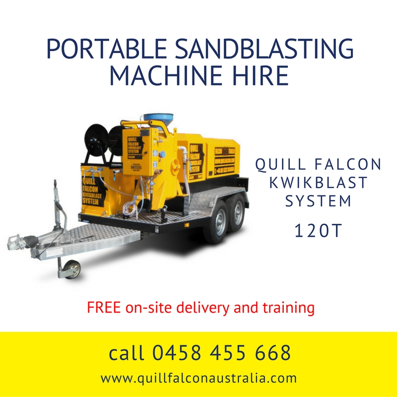 Quill Falcon Kwikblast Dustless Blasting Machine Falcon 120T